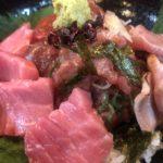【桜川】一休のマグロ三色丼を頼んだら四色丼が出てきて興奮した